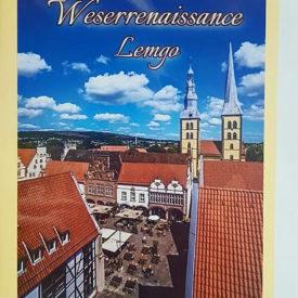 Postkarte Lemgo Panorama