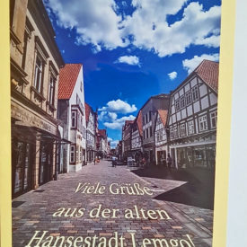 Postkarte Lemgo Mittelstraße