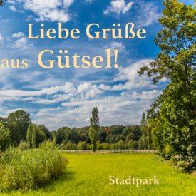 Postkarte Stadtpark Gütersloh