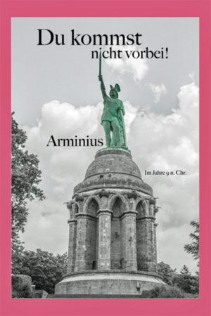 Grußkarte Hermannsdenkmal Du kommst nicht vorbei