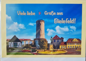 Postkarte Bielefeld Collage
