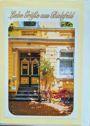Postkarte Bielefeld Westend