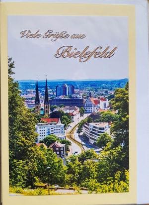 Postkarte Viele Grüße aus Bielefeld
