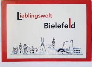 Postkarte Lieblingswelt Bielefeld