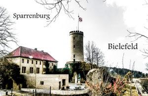 Sparrenburg Bielefeld Kühlschrankmagnet