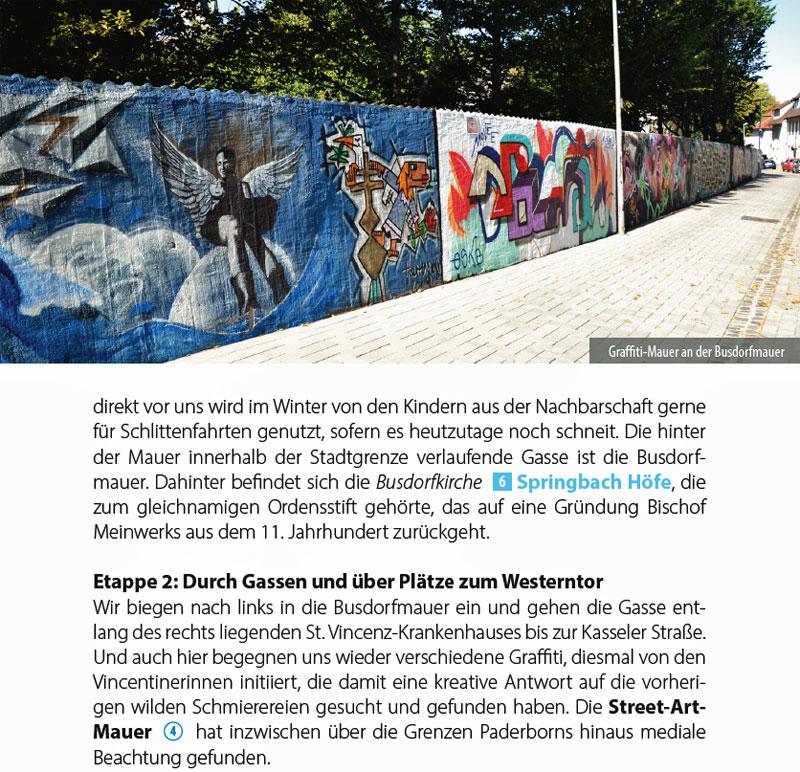 BusGang Paderborn Mauer