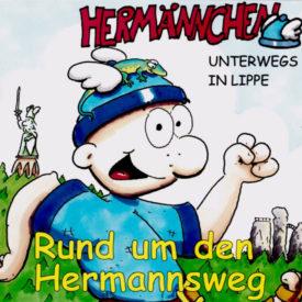 Hermännchen unterwegs in Lippe - Rund um den Hermannsweg