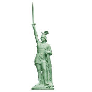 Hermannsdenkmal 3d Statue
