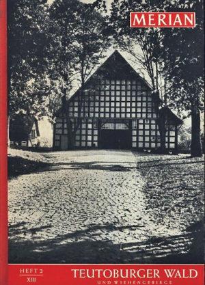 Merian Teutoburger Wald 1960