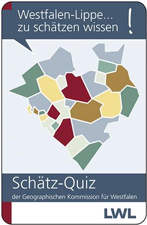 Schätz-Quiz Kartenspiel Westfalen-Lippe