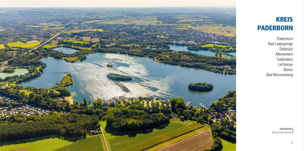 Paderborn Luftbild von oben