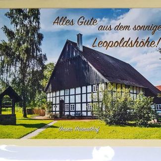 Postkarte Leopoldshöhe Lippe