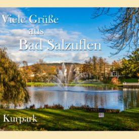 Grußkarte Bad Salzuflen Kurpark
