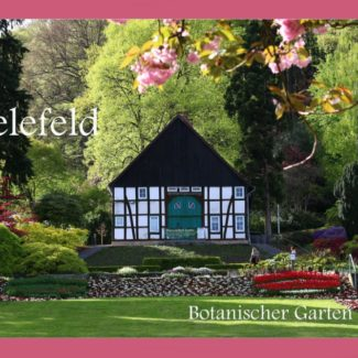 Postkarte Botanischer Garten Bielefeld
