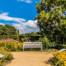 Postkarte Gütersloh Botanischer Garten