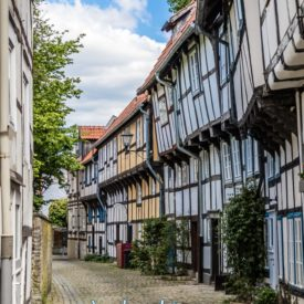 Grußkarte Detmold Altstadt