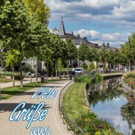 Postkarte Viele Grüße aus Detmold