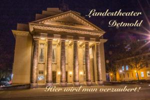Landestheater Detmold Grußkarte