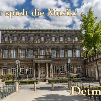 Postkarte Hochschule für Musik Detmold