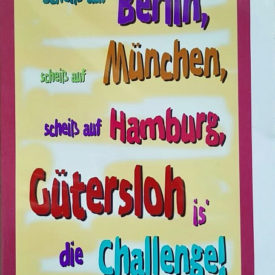 Postkarte Gütersloh Challenge