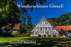 Postkarte Gütersloh Meierhof Rassfeld
