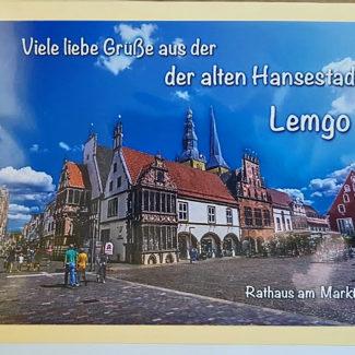 Alte Hansestadt Lemgo Rathaus am Markt