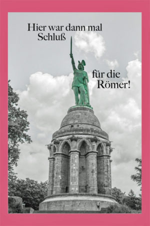 Grußkarte Hermannsdenkmal