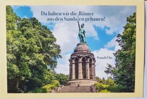 Grußkarte Hermannsdenkmal Römer