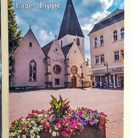 Postkarte Lage Lippe Marktkirche