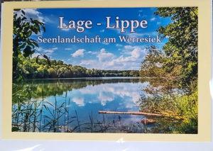 Postkarte Lage Lippe See Werresiek
