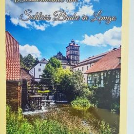 Postkarte Lemgo Schloss Brake
