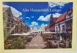 Postkarte Lemgo Marktplatz