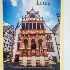Postkarte Lemgo Rathaus Ratslaube 1565