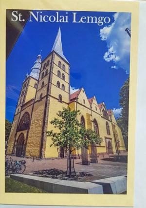 Postkarte Lemgo St.-Nicolai-Kirch