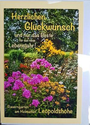 Postkarte Leopoldshöhe Heimathof