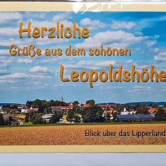 Postkarte Leopoldshöhe Lipperland