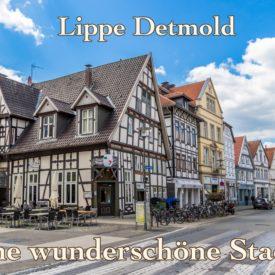 Postkarte Lippe Detmold