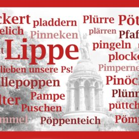 Grußkarte Lippe Hermannsdenkmal