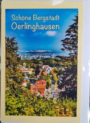 Postkarte Oerlinghausen Panorama