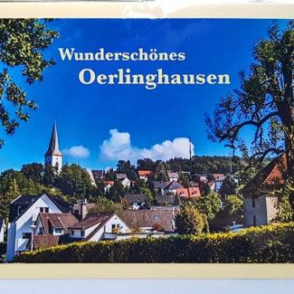 Postkarte Oerlinghausen Stadtansicht