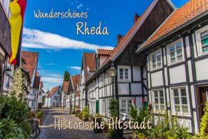 Postkarte Rheda Altstadt