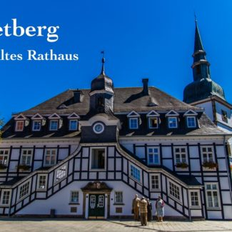 Grußkarte Rietberg Rathaus