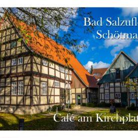 Grußkarte Bad Salzuflen Schötmar Café am Kirchplatz