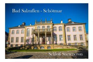 Grußkarte Bad Salzuflen Schötmar Schloss Stietencron