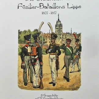 Die Uniformen des Füsilier-Batallons Lippe
