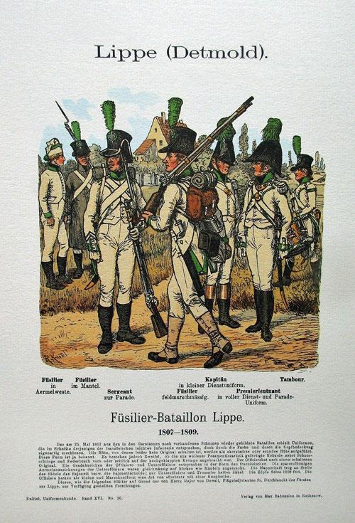 Uniformen Lippe