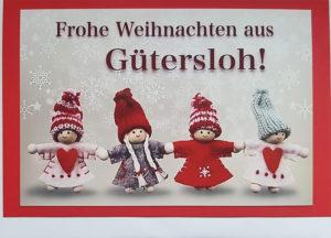 Gütersloh Weihnachtswichtel Quartett
