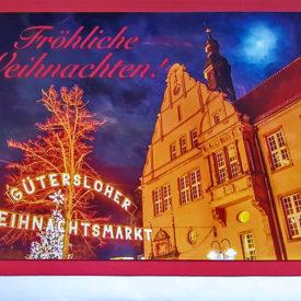 Weihnachtskarte Altes Amtsgericht Gütersloh