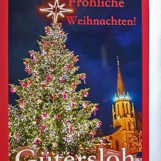 Weihnachtskarte Gütersloh Weihnachtskarte
