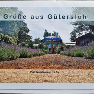 Postkarte Palmehaus-Café Gütersloh